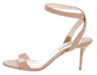 Prada Suede Multistrap Sandals