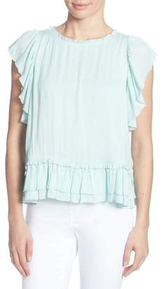 Catherine Malandrino Hollis Ruffled Top