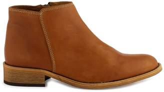Cosmo Paris COSMOPARIS Femi Leather Ankle Boots