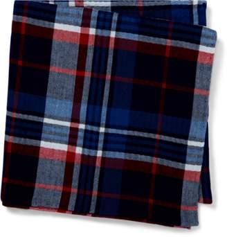 Ralph Lauren Plaid Cotton Pocket Square