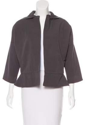 Halston Lightweight Open-Front Jacket