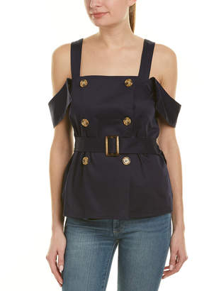 C/Meo Collective Double-Breasted Top