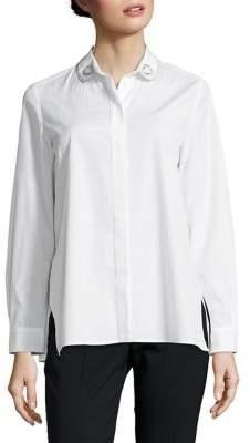 Max Mara Classic Cotton Button-Down Shirt