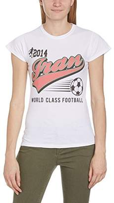 Football Fan Women's England Script Regular Fit Short Sleeve T-Shirt Clearance Best Prices Sale Manchester Great Sale Explore Buy Cheap Pay With Visa Newest Online ckYjnled