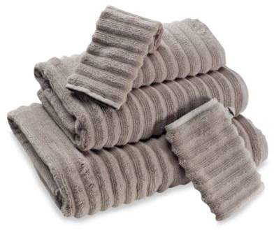 Turkish Luxury Collection Turkish Ribbed Bath Sheet in Taupe