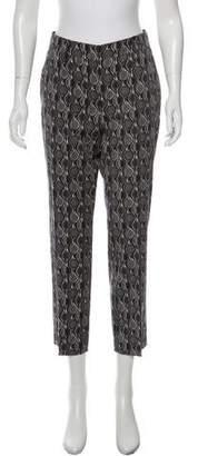 Prada Cropped Patterned Pants
