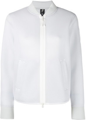 New Balance mesh bomber jacket $126.70 thestylecure.com
