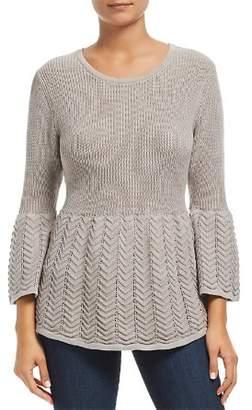 Heather B Mixed Stitch Sweater