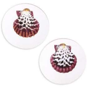 Sirena Rebecca de Ravenel Shell Earrings