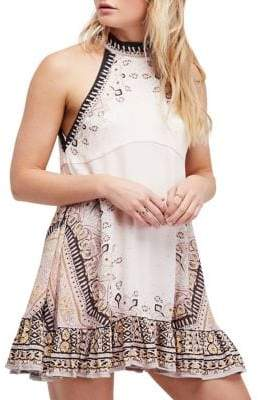 Free People Steal The Sun Printed Dress