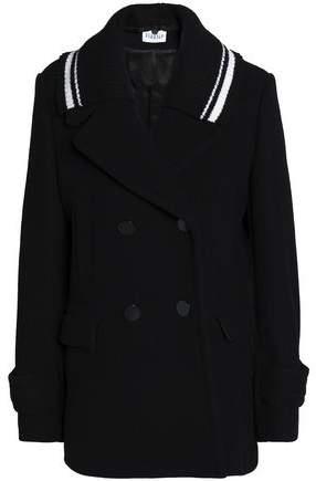 Double-Breasted Wool Felt Jacket