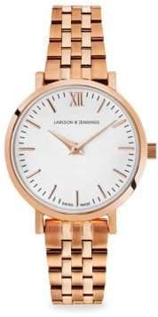 Larsson & Jennings Lugano 26mm Rose Gold Bracelet Watch