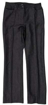 Claudie Pierlot Mid-Rise Straight-Leg Jeans