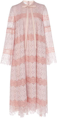 Giambattista Valli Rose Lace Dress