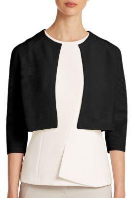 BOSS Faria Knit Bolero Sweater $225 thestylecure.com