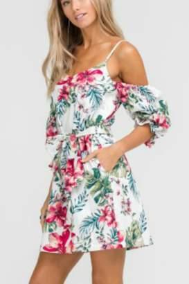 Lush Mini Floral Dress
