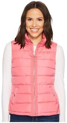 U.S. Polo Assn. Vest with Grosgrain Trim Women's Vest