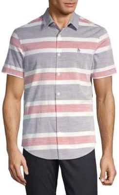 Original Penguin Short Sleeve Striped Shirt