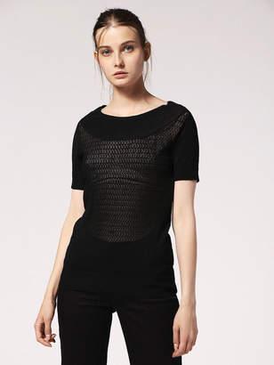 Diesel Sweaters 0TAQJ - Black - L