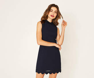 Oasis SCALLOP SHIFT DRESS