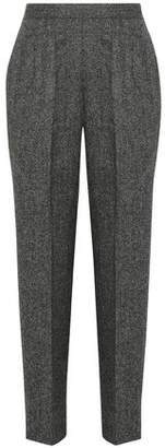 Maison Margiela Cropped Wool Tapered Pants