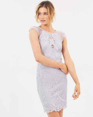 Lipsy Embroidery Body-Con Dress