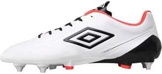 0dd73ab0ca69 Umbro Mens Velocita II Pro SG Football Boots White Black Coral