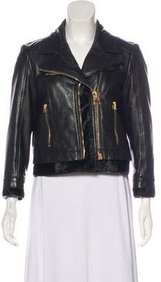Tom Ford Leather Ponyhair Jacket