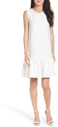 Women's Maggy London Lace Ruffle Dress $138 thestylecure.com