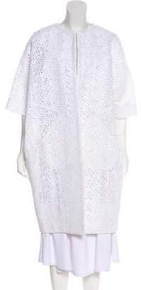 Zero Maria Cornejo Bea Crocheted Coat w/ Tags