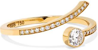 Sophie Bille Brahe Amour 18-karat Gold Diamond Ring