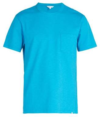 Orlebar Brown Sammy Ii Cotton T Shirt - Mens - Blue