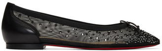 Christian Louboutin Black Patio Flats