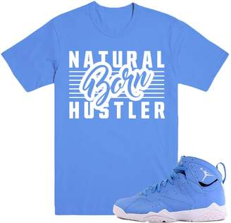 Pantone DapperSam Clothing BORN HUSTLER 7's Sneaker Match T-Shirt Tees, Retro