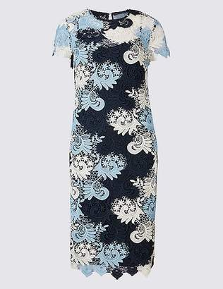 Marks and Spencer Lace Fuller Bust Short Sleeve Bodycon Dress