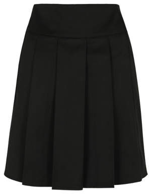 0d61185e12 George Senior Girls Black Pleated School Skirt