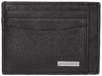 BOSS Black Structured Card Holder