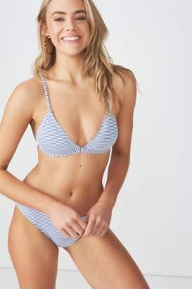 Body Amara Stripe Fixed Triangle Bikini Top