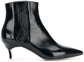 Casadei varnished ankle boots