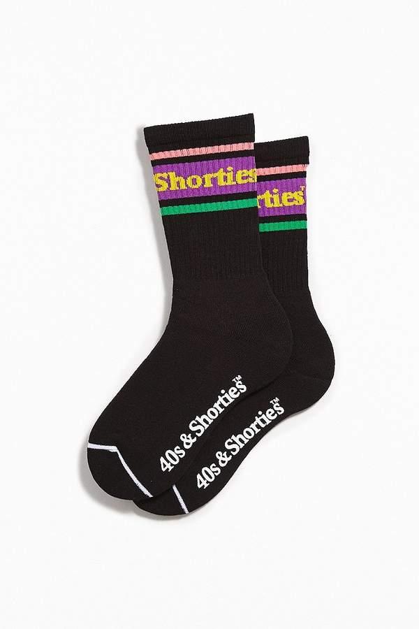 40s & Shorties Stripe Logo Sock