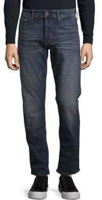 G Star Tapered Straight-Fit Jeans