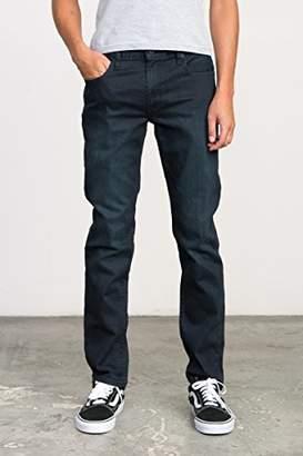 RVCA Men's Hexed Denim Jean