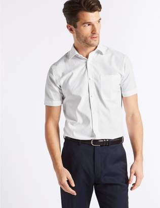 Marks and Spencer 3 Pack Short Sleeve Skinny Fit Shirts