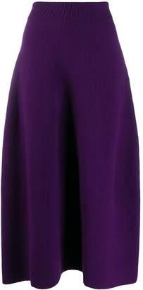 Christian Wijnants knitted wool skirt
