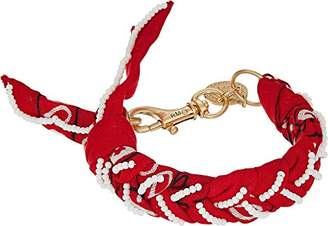 Rebecca Minkoff Women's Braided Bandana Bracelet