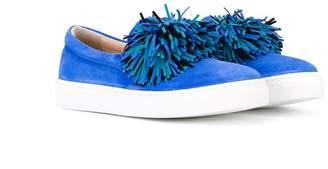 Aquazzura Mini fringe detail sneakers
