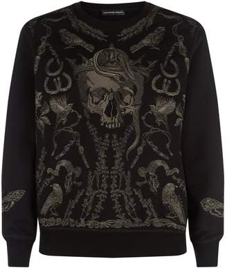 Alexander McQueen Treasure Skull Sweater