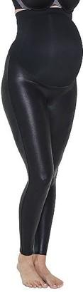 Spanx Faux Leather Mama Leggings