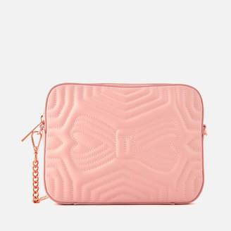 Ted Baker Women's Sunshine Quilted Camera Bag - Light Pink