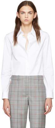 Calvin Klein (カルバン クライン) - Calvin Klein 205W39NYC ホワイト ポプリン シャツ